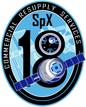 CRS-18 NASA Mission Patch