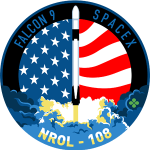 NROL-108 SpaceX Mission Patch