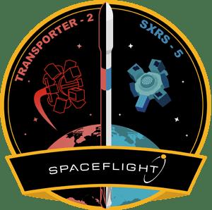 Transporter-2 Spaceflight Mission Patch
