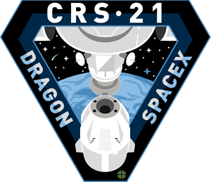 CRS-21 SpaceX Mission Patch