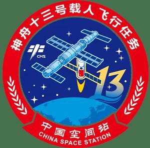 Shenzhou 13 Mission Patch