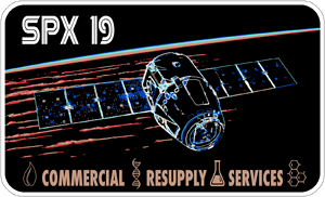 CRS-19 NASA Mission Patch