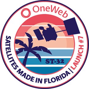Arianespace OneWeb 7 Mission Patch