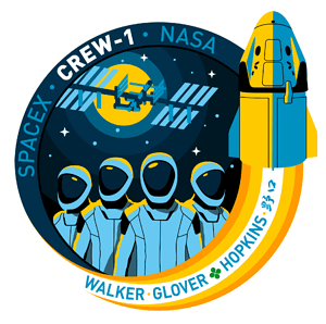 Crew-1 SpaceX Mission Patch