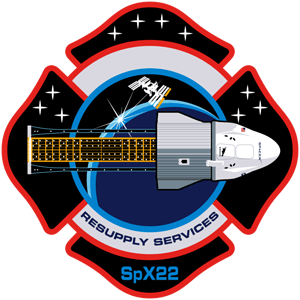 Space X CRS-22 Mission Patch