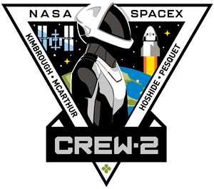 SpaceX Crew 2 SpaceX Patch