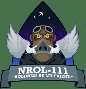 NROL-111 Mission Patch