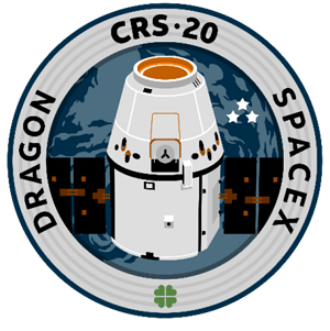 CRS-20 SpaceX Mission Patch