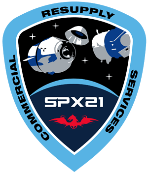 CRS-21 NASA Mission Patch