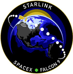 Space X Starlink Mission Patch