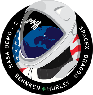 DM-2 SpaceX Mission Patch