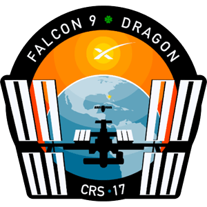 CRS-17 SpaceX Mission Patch