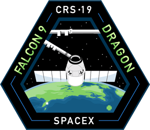 CRS-19 SpaceX Mission Patch