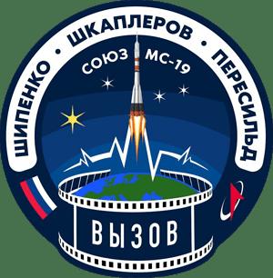 Soyuz MS-19 Mission Patch
