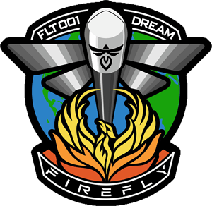 FLTA001 DREAM Firefly Mission Patch