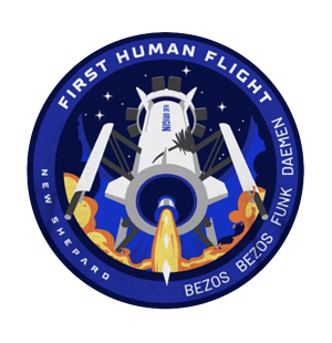 NS-16 BO Mission Patch
