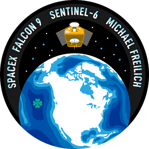 Sentinel-6 SpaceX Mission Patch