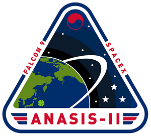 ANASIS-II SpaceX Mission Patch