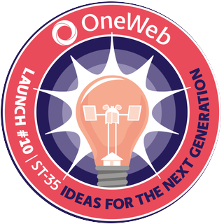 OneWeb 10 Mission Patch