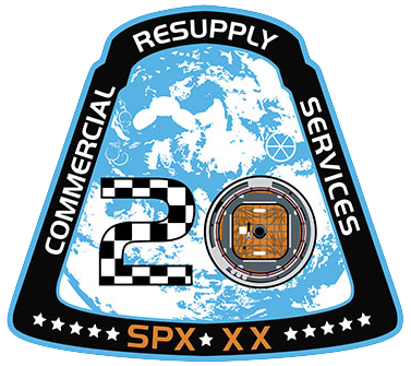 CRS-20 NASA Mission Patch
