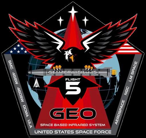 ULA SBIRS GEO-5 Mission Patch